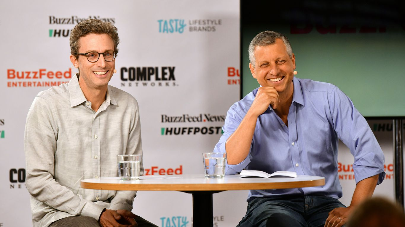 BuzzFeed's plan to go public is all about scale